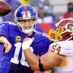 TNF NFL Betting - New York Giants vs. Washington Redskins Prediction