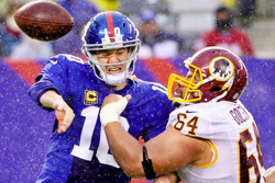 Football Betting Matchup: New Orleans Saints at New York Giants